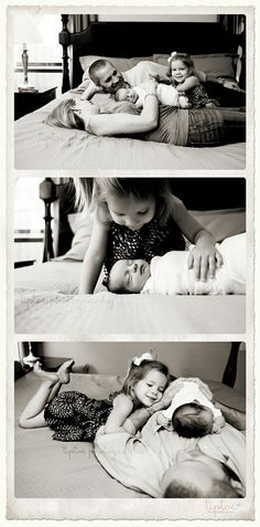 Sweet family newborn pics