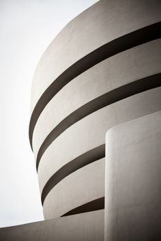 "arqvac: ""Guggenheim museum"" in NYC, USA by Frank Lloyd Wright Frank Lloyd Wright, Amazing Architecture, Art And Architecture, Architecture Details, Concrete Architecture, Residential Architecture, Ann Street Studio, Museums In Nyc, Beautiful Buildings"
