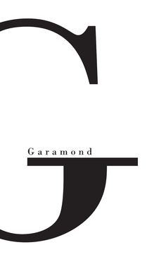 Garamond - Anna Bang