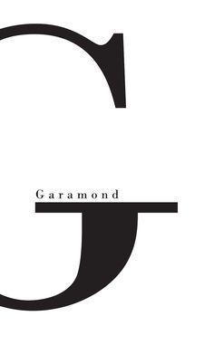 Garamond - Anna Bang                                                                                                                                                                                 More