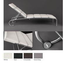 Sutherland furniture. Mariner collection. Armless chaise. John Hutton design.