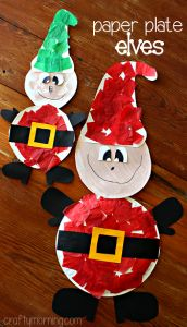 paper-plate-elf-christmas-craft-for-kids-to-make