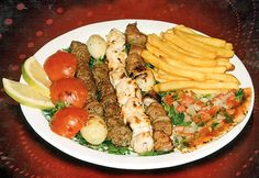 Lebonese-food love it considering I am Lebonese.