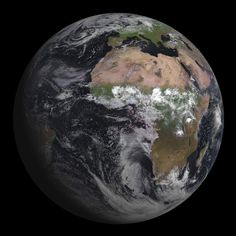 New European satellite captures startling photo of Earth from space