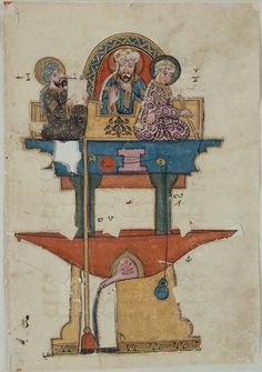 from the Book of the Knowledge of Ingenious Mechanical Devices by al-Jazari DateA.H. 715/A.D. 1315 (Museum of Fine Arts, Boston)