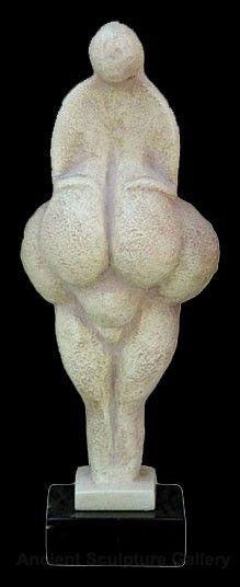 "Venus of Lespugue Prehistoric Goddess Statue Sculpture : Made of cast stone Dimensions: 8""H (20 cm) Weight: 1.5 lbs (0.7 kg)"