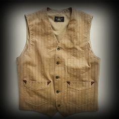 ダブルアールエル メンズ ベスト RRL Herringbone Striped Vest ベスト-アバクロ 通販 ショップ-【I.T.SHOP】 #ITShop