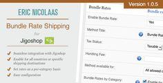 Jigoshop Bundle Rate Shipping