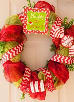 Christmas wreath idea!