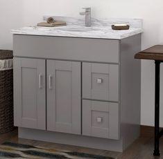 Grayson collection bath vanity base