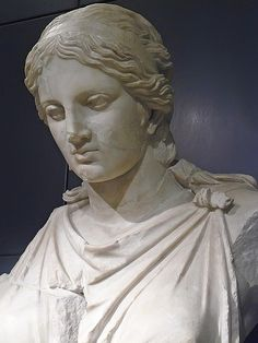 Statue of Artemis thought to be Roman copy of Greek original by Kephisodotos in 4th century BCE from the Horti Vettiani