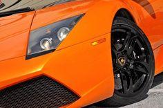 Eye of an 'Orange' predator! The Lamborghini Murcielago... #spon