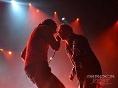 98 RockFest Shinedown show - Zach Myers