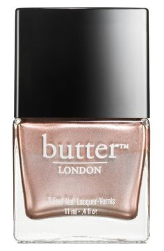 A rose gold mani will be perfect for prom.