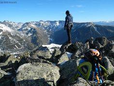 Juan Carlos contempla el Pirineu. - Gerardo
