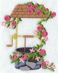 Machine Embroidery Designs at Embroidery Library! - Gardens