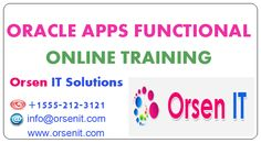 oracle apps functional online training in usa,oracle training