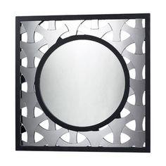 Wistaria Lighting Stockholm Geometric Mirror in Black