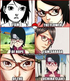 I AM SARADA OF UCHIHA CLAN ~ Sarada Uchiha