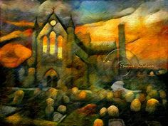 Cathedral, Ireland, Saints, Digital Art, City, Painting, Painting Art, Cathedrals, Cities