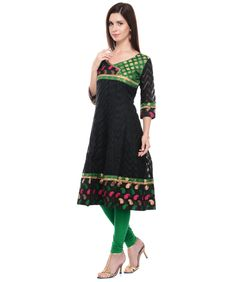Buy banarasi cotton anarkali kurti online at best price in India