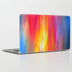 """Bright Horizons"" by Ebi Emporium on Society 6, Colorful Fine Art Abstract Acrylic Painting, Sunrise Sunset Multicolor Bold Rainbow Stripes Decor #iPadskin #iPad #iPadMini #iPadDecal #artskin #iPadstyle #laptopskin #laptopdecal #laptop #Macbook #skin #decal #techskin #vinylskin #vinyldecal #iPhoneskin #techie #tech #device #teen #giftforteen #colorful #stripes #rainbow #art #EbiEmporium #painting #abstract #sunrise #sunset #red #pink #blue #yellow #coastal #nautical #summer #modernart"
