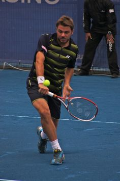 One of the world's most powerful one-handed backhands.    Stanislas  Wawrinka (SUI)