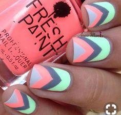 summer vibes nail art
