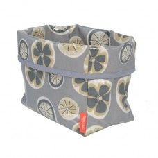 Ted Food Storage Basket in Poppy Fabric made by Poppy and Rufus Ltd in #Cheshire - £22.95