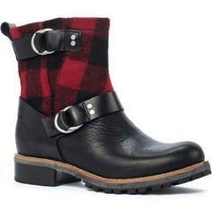 Woolrich Women's Baltimore Boot, METAL/RED BUFFALO Woolrich Women's Baltimore Boot, METAL/RED BUFFALO CHECK (Red), Size 9 Genuine leather worn once for a few hours. These boots are for sale at Woolrich for $225. Woolrich Shoes Winter & Rain Boots