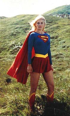 DC Comics in film - 1984 - Supergirl - Helen Slater as Supergirl Dc Comics Heroes, Dc Comics Characters, Supergirl Movie, Supergirl 1984, Helen Slater Supergirl, Kara Kent, Cosplay Anime, Dc Movies, Power Girl