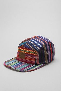 704823b865d OBEY Gaucho 5-Panel Hat Indie Clothing Brands
