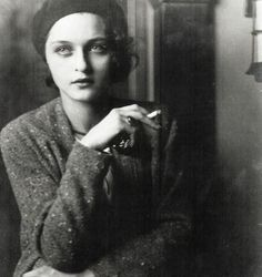 Corinne Michael West (1908 - 1991) Abstract Expressionist painter, poet, actress and writer by Jon Boris - 1930:dsata