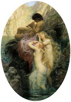 Герберт Джеймс Дрейпер (Herbert James Draper), 1863-1920. Англия   Изобразительное искусство