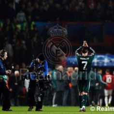 """Cristiano Ronaldo: """"I've done my job, which was to help Real Madrid win and go through to the quarters"""" Real Madrid Football Club, Real Madrid Soccer, Cr7 Vs Messi, Real Madrid Win, Modern Games, Good Soccer Players, World Of Sports, Cristiano Ronaldo, Manchester United"""
