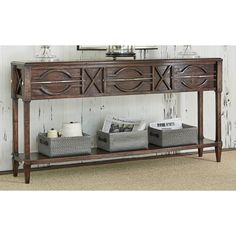 Ambella Home Spindle Console in Walnut USD High Quality Furniture, Dining Room Furniture, Entryway Tables, Console, Upholstery, Dining Table, Cabinet, Living Room, Storage