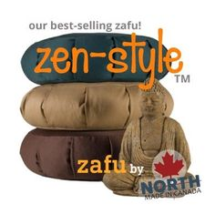 Best-selling Canadian-made Zafu Meditation Cushion for beginners or experts. Artisan-Crafted in Canada by North Meditation. Expert service, support. Ships Canada. Zen Style, Meditation Cushion, Artisan, Cushions, Ships, Crafts, Canada, Throw Pillows, Toss Pillows