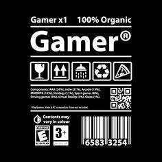 Gamer t-shirt : Gamer t-shirt Shirt Print Design, Tee Shirt Designs, Graphic Design Posters, Graphic Design Inspiration, Day Of The Shirt, Hypebeast Wallpaper, Gamer T Shirt, Typography, Lettering