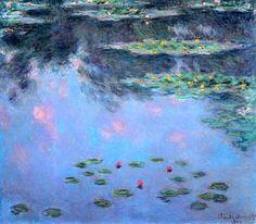 bofransson: Waterlilies, 1906-07Claude Monet