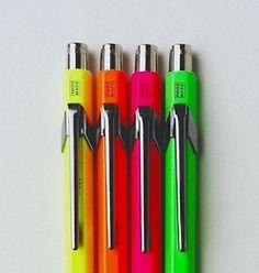 CARAN d'ACHE ballpoint pens