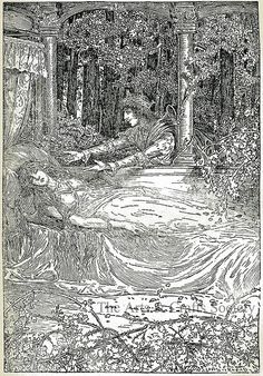 Louis Rhead - Grimm's Fairy Tales - 1917