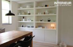 Een inbouwkast op maat voor de eetkamer