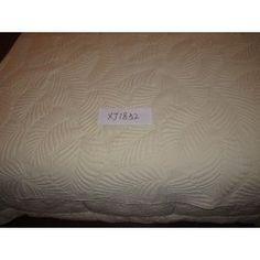 Ágytakaró pamut 240x260cm krém Scrappy Quilts