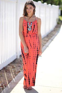 bamboo tie dye maxi dress http://www.caralase.com/bamboo-tie-dye-maxi-dress/