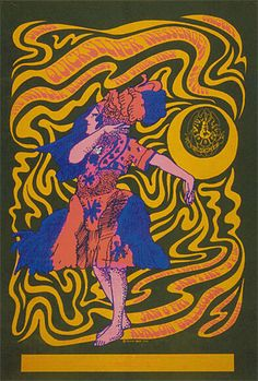 1/6-7/ 1967 .....  Avalon Ballroom ..... Quicksilver Messenger Service .   Steve Miller Blues Band ............. The Other Half .....................      . artist ..... VICTOR MOSCOSO .........   . (FD-42)  Family Dog Poster