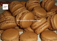 Macaron dióval Recept képpel - Mindmegette.hu - Receptek Pretzel Bites, Oreo, Muffin, Cookies, Cake, Tiramisu, Dios, Kuchen, Recipies