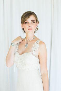 Lilliane Back Drape Necklace
