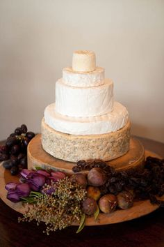 Formaggi Ocello Cheese (I would suggest this for the wine & cheese station; NOT the wedding cake