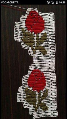 Elişi h Crochet Art, Thread Crochet, Crochet Granny, Cute Crochet, Crochet Doilies, Hand Embroidery Patterns, Baby Knitting Patterns, Crochet Patterns, Filet Crochet Charts