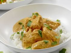Pollo con leche de coco con Thermomix - carnes y pollo con Thermomix - Thermomix Arroz Al Curry, Coco Curry, Salsa Curry, Asian Recipes, Ethnic Recipes, Thai Red Curry, Good Food, Food And Drink, Cooking Recipes